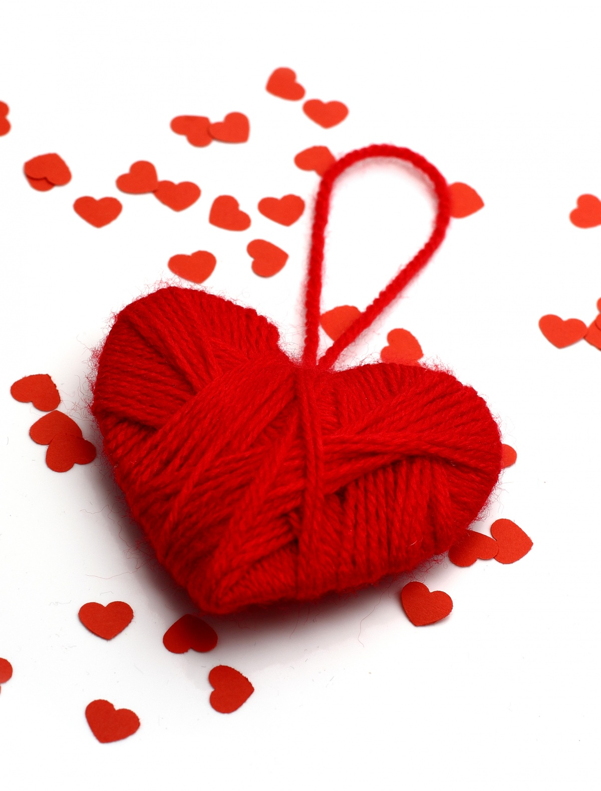 Открытки виде сердечка