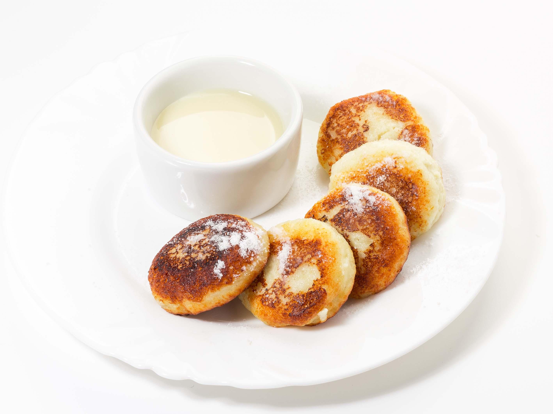 Сырники со сгущенным молоком