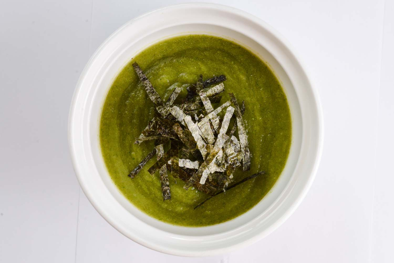 Суп-пюре зеленый