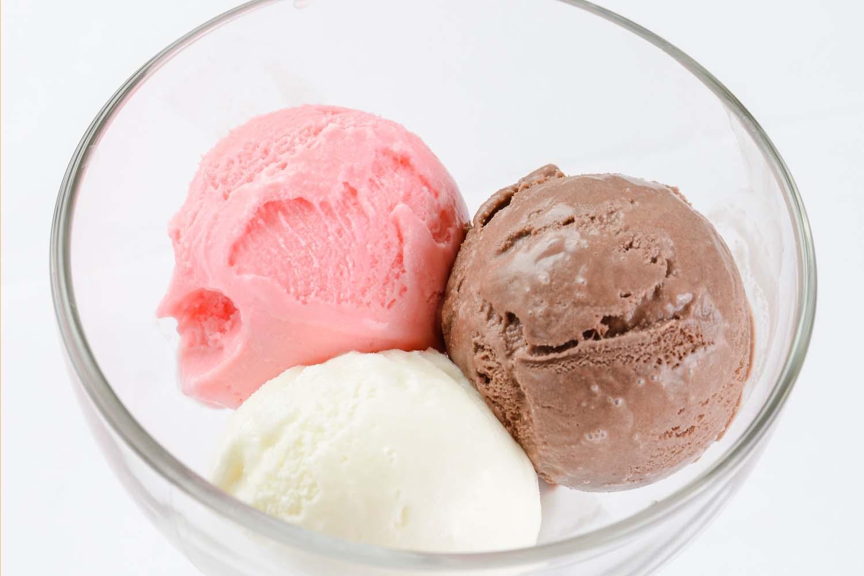 Мороженое 'Три шарика'