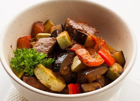 Гуляш 'по-венгерски' из говядины