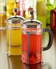Чай ягодный с имбирём