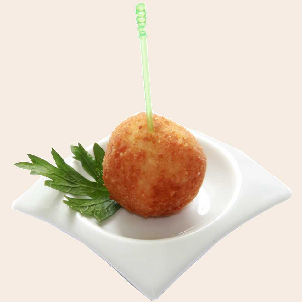 Рисовый шарик с курицей карри